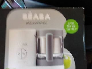 Beaba Babycook Neo Cloud Glass 4 In 1 Steam Cooker   Blender 5 5 Cup Capacity