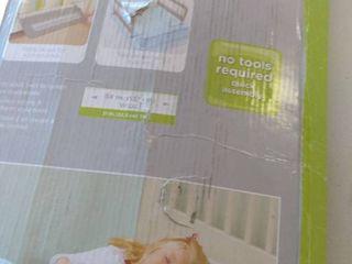 extra long folding single bedrail