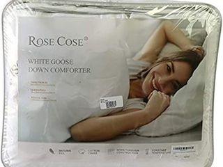Rose Cose Goose Down Comforter R235Q Queen