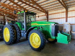 WAYNE SCHEMEL ESTATE EXCEPTIONALLY CLEAN JOHN DEERE FARM EQUIPMENT AUCTION
