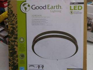 Good Earth lighting Jordan 17 in decorative ceiling fixture