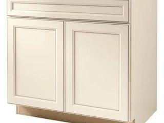 Diamond now Caspian 36 inch sink base cabinet 51395