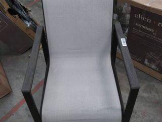 Easton Park sling chair Gray