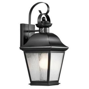 Kichler 9708 Mount Vernon 1 light 17 in Tall Outdoor Wall Sconce