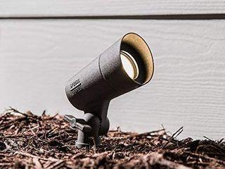 4 Portfolio 290 lumen 4 watt Bronze low Voltage Hardwired led Spot light