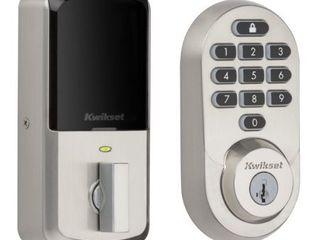 HAlO Keypad Wi Fi Smart lock Satin Nickel