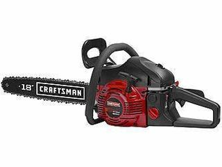 Craftsman 18 in 42cc 2 cycle Gas Chainsaw 18in 42cc Bar Performance Chainsaw