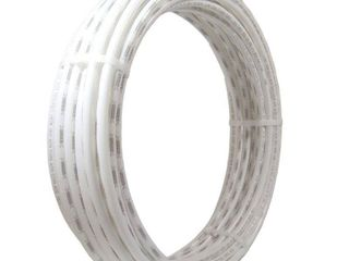 SharkBite U870W50 3 4 Inch 50 Feet Coil White PEX Tubing