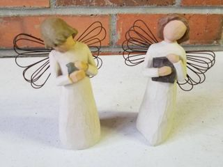 Willow Tree set of 2  Angel of learning and Angel of Healing