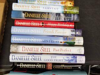 Daniel Steele hardback books