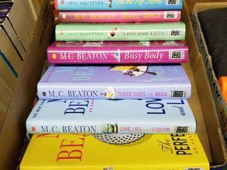 MC Beaton hardback books