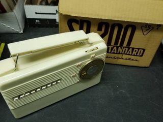 SR  200 standard minimaster radio