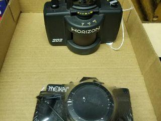 Horizon and Meikai cameras
