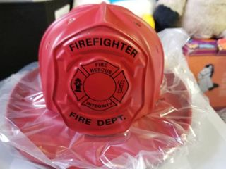 Scentsy firefighter first in last out warmer New