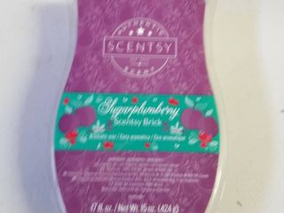 Scentsy 17oz brick sugerplumberry scent New