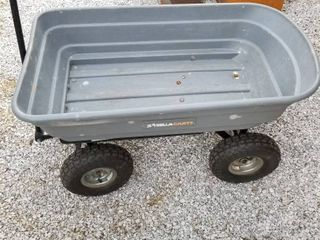Gorilla cart wagon with latch to dump load