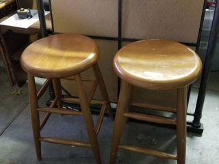 Barstools set of 2  25  tall
