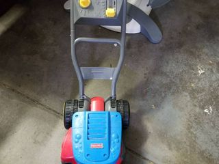 fisher price bubble lawnmower