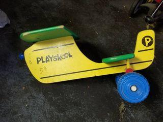 playskool multicolored airplane
