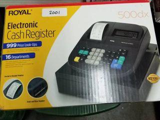 Royal 500 DX cash register new in box