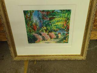 Framed Garden Art 22 x 23 in