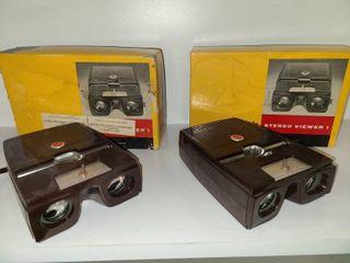 Vintage Kodak Stereo Viewers