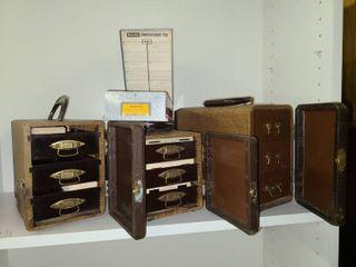 Vintage Slide Viewer Slide Storage and Organizers