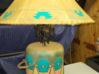Indian Drum Table lamp