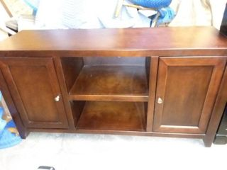 legends Furniture Wood TV Stand Cabinet 27 x 52 x 17 in