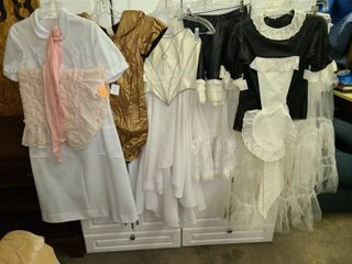 Assorted Womens Costume Pieces