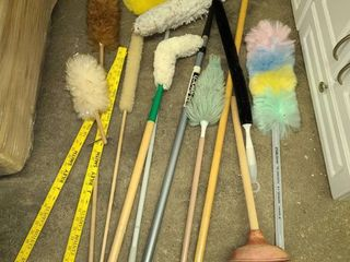 Dusters and Yard Sticks