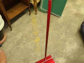 Red Floor Sweeper