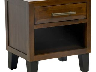 luna Acacia Wood End Table by Christopher Knight Home  Retail 135 99