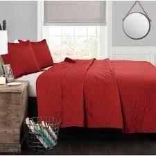Mari Mac  Adam red quilt