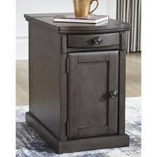 Copper Grove Morvan Chairside End Table  Retail 223 49 black