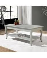 copper Grove olry soild wood coffee table light grey