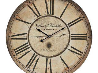 Sterling 118 042 Carte Postal Wall Clock