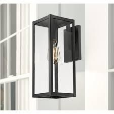 Manlius best shared Outdoor Sconce wall lantern clear glass 2 pk
