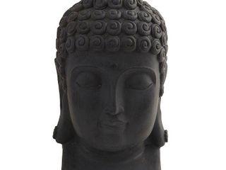 Buddha Head Indoor  Outdoor Sculpture
