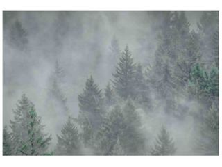 Marmont Hill   Handmade Misty Mood Painting Print on Canvas  Retail 363 99