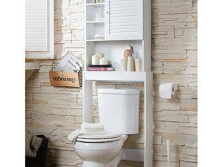 Furniture of America Cula Modern White Space saver Cabinet  Retail 141 99