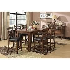 Copper Grove dining table dark brown