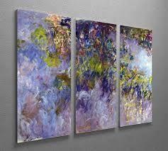 Wisteria  Claude Monet  Retail 129 99 3 pc set