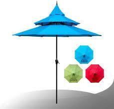 Maypex 9 Feet Pagoda Market Umbrella  Retail 105 49 aqua