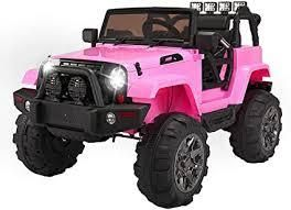 pink jeep electric battery operated