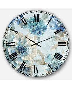 Designart  Indigold Watercolor lovely bird IV  Farmhouse large Wall Clock  Retail 147 49