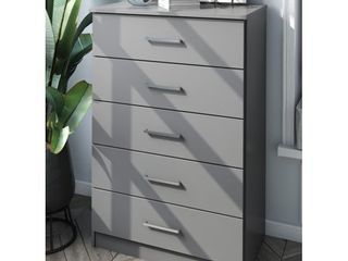 Solid Wood Metro 5 Drawer Chest by Palace Imports  Retail 335 99
