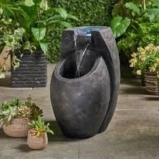 Zen Fountain by Christopher Knight Home  Retail 130 29 grey