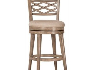 Hillsdale Furniture Chesney Swivel Counter Stool  Retail 319 00