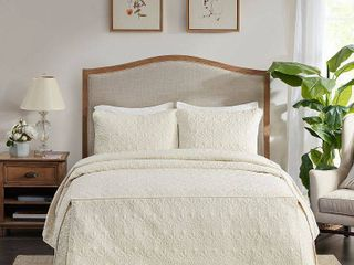Madison Park Mansfield Fitted Bedspread Set  Retail 103 87